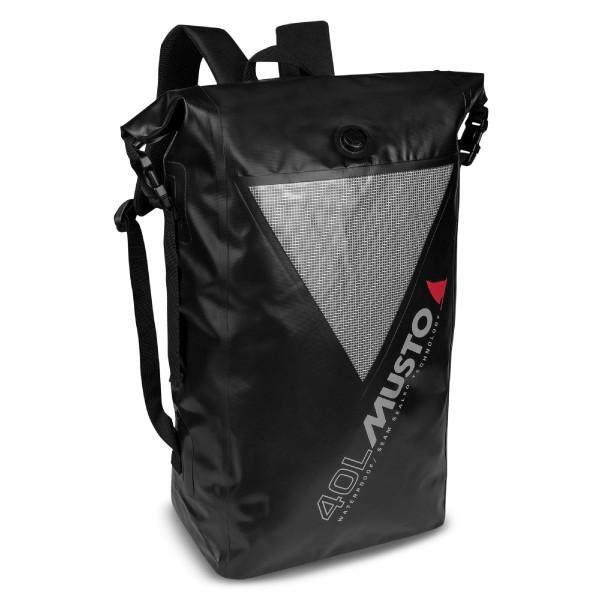 Musto Waterproof Dry Backpack 40L Black/Grey 80041