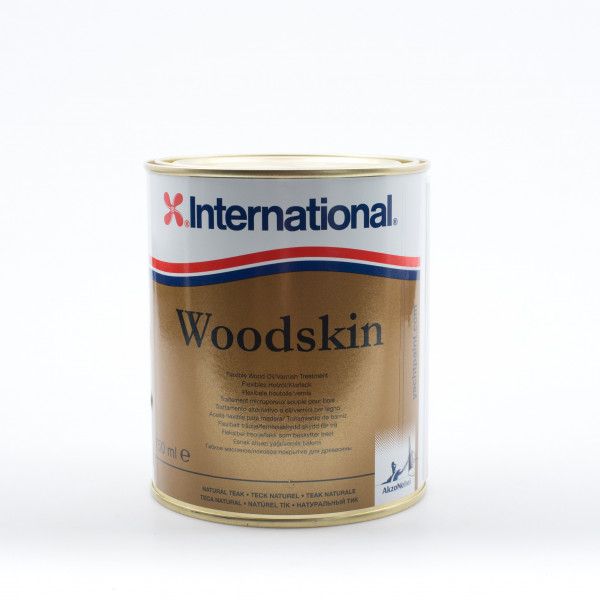 International Woodskin Natural Teak 750ml