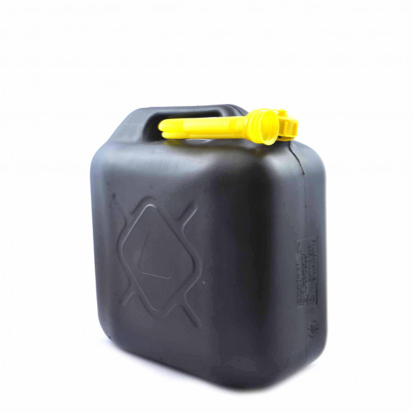 Fuel Can Black 10ltr