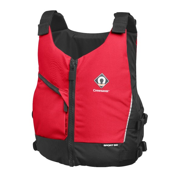 Crewsaver Sport 50N Buoyancy Aid Red Junior