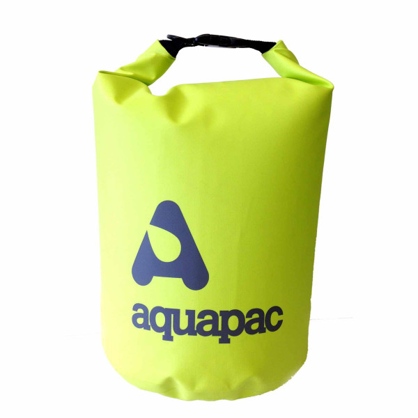 Aquapac Waterproof TrailProof Dry Bag 15L with Shoulder Strap Acid Green - 733