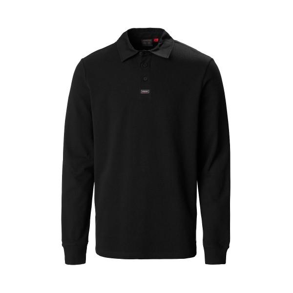 Musto Pique Rugby Shirt True Black
