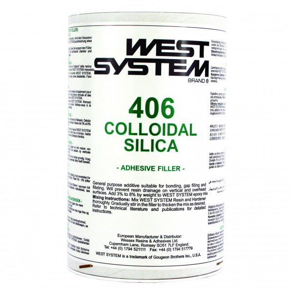 West System 406S Colloidal Silica Filler 0.06kg