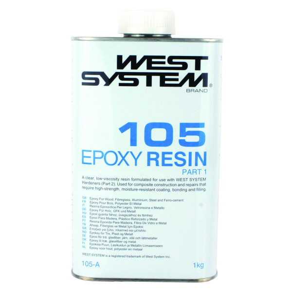 West System Epoxy 105A Resin 1.0kg