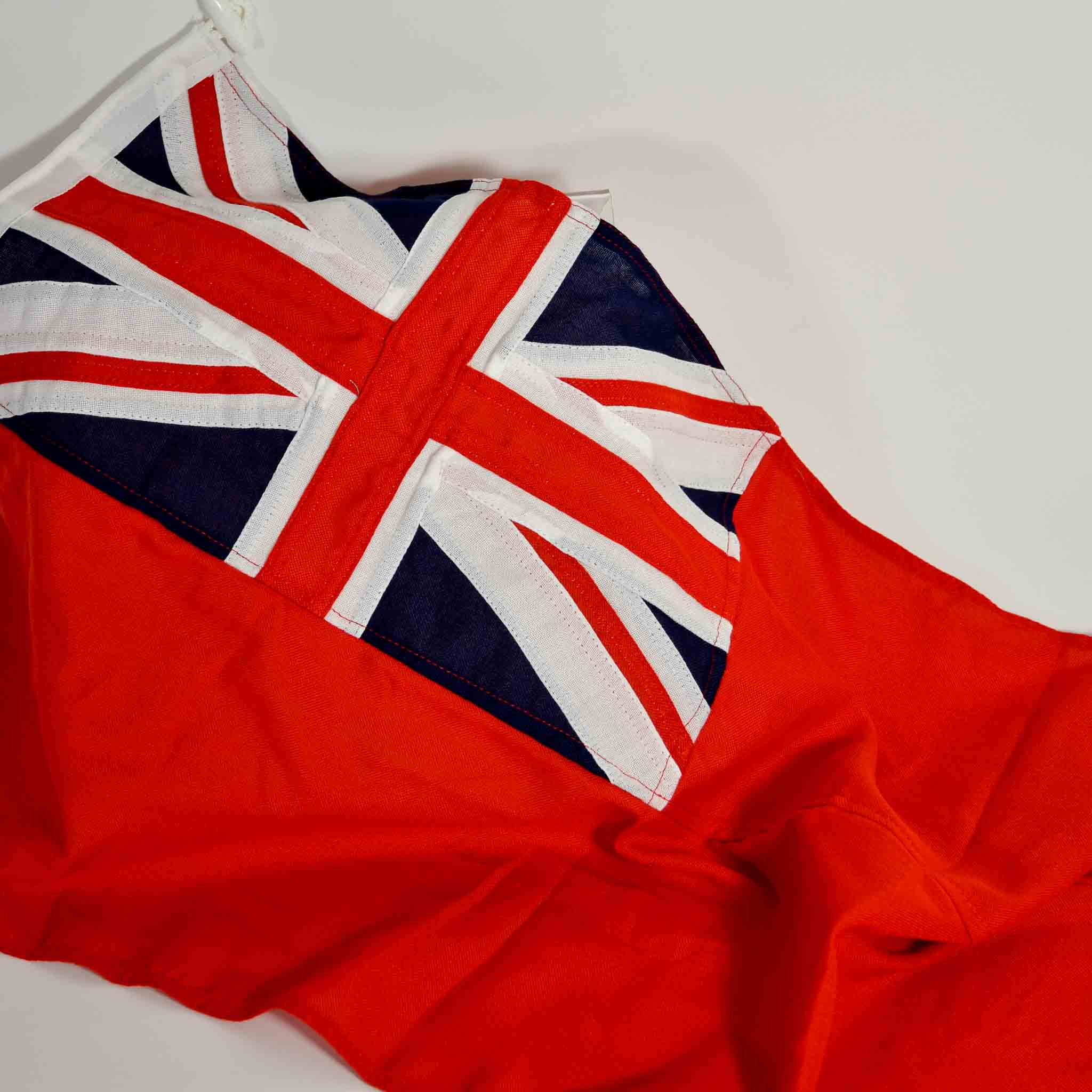 High Quality Red Ensign Sewn Boat Flag 3//4 Yard 40cm x 68.5cm