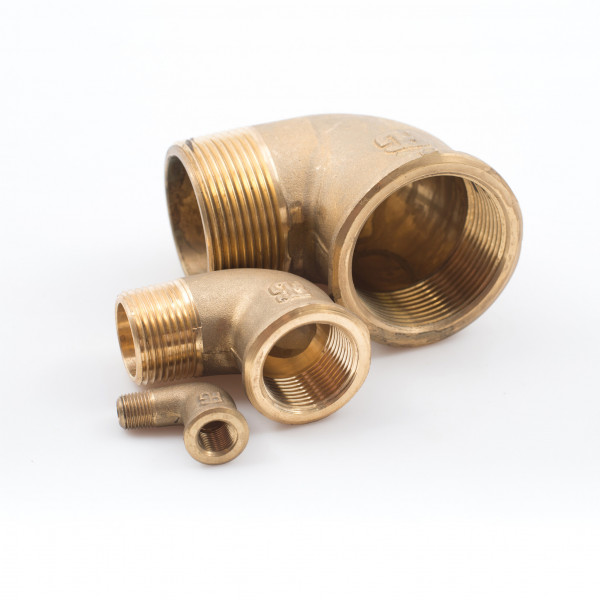 Elbows Brass Male Female Skin Fittings Valves Hose Connectors