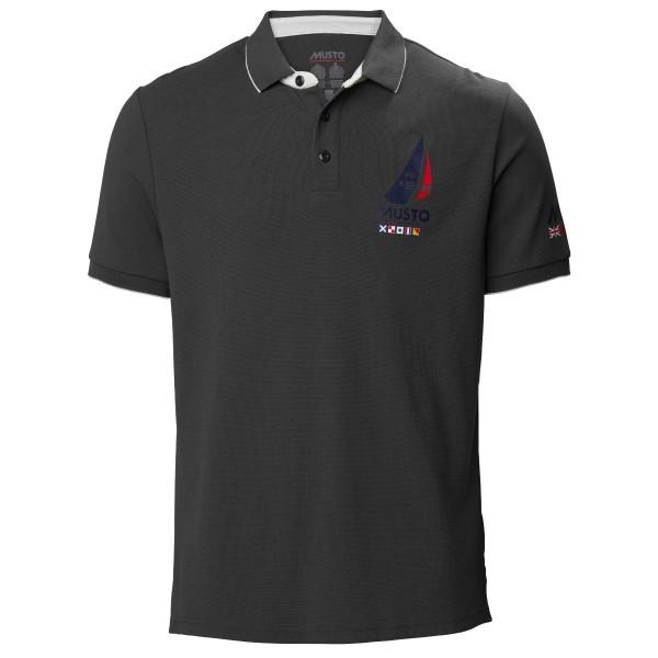 Musto Sardinia Polo Shirt Carbon