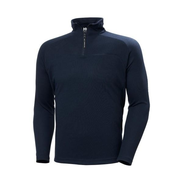 Helly Hansen 1/2 Zip Pullover Navy 54213