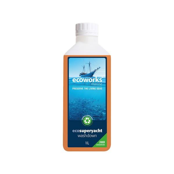 Ecoworks Eco Yacht & Superyacht Washdown 1Ltr