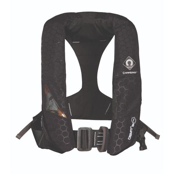 Crewsaver Crewfit+ 180N Pro Lifejacket Automatic with Harness Black