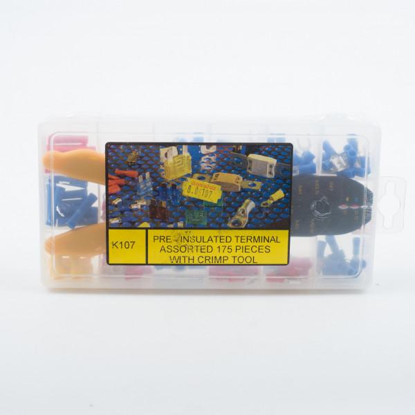 Terminals Kit 175 Terminals & Tool