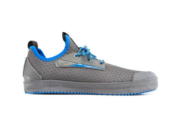 Zhik ZKG 2019 Grey/Cyan Boat Shoe Side