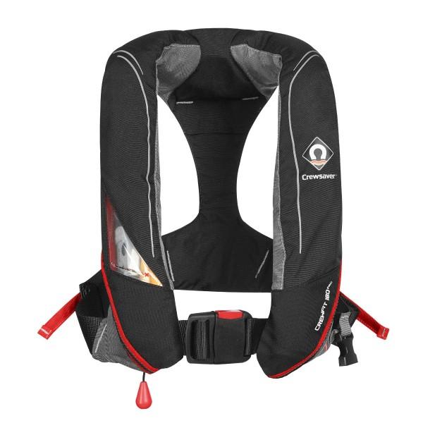 Crewsaver Crewfit 180N Pro Lifejacket Automatic Black/Red