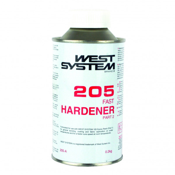 West System Epoxy 205A Hardener 0.2kg