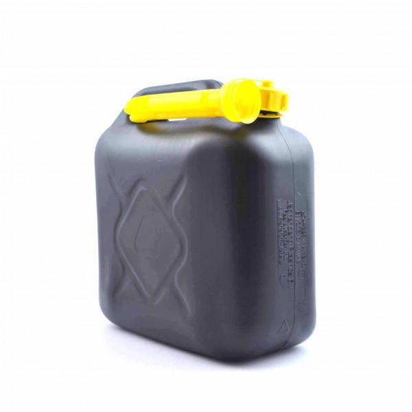 Fuel Can Black 20ltr