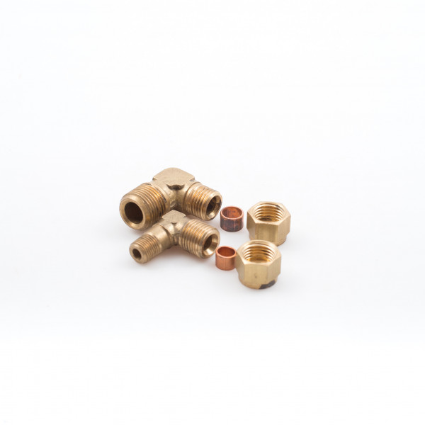 Elbows Pipe Male Stud Brass BSP