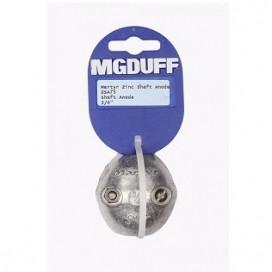 """MGDUFF ZSA75 Zinc Shaft Anode 3/4"""""""
