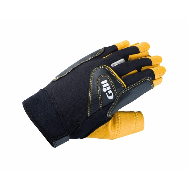 Gill Pro Gloves Short Finger Black