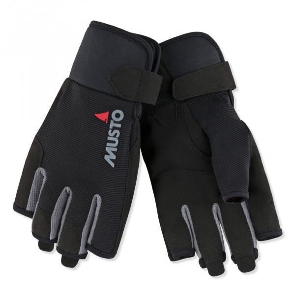 Musto Essential Sailing Short Finger Glove Black 80102