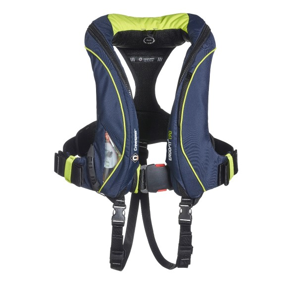Crewsaver ErgoFit+ 190N Lifejacket Automatic with Harness, Light & Hood