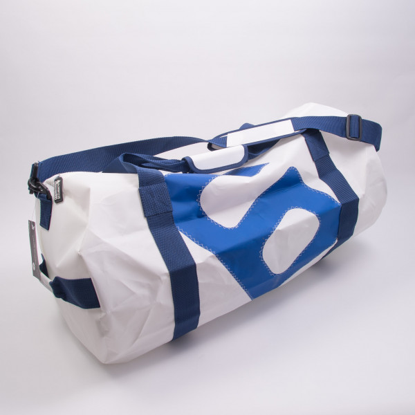 Barrel Bag White Large