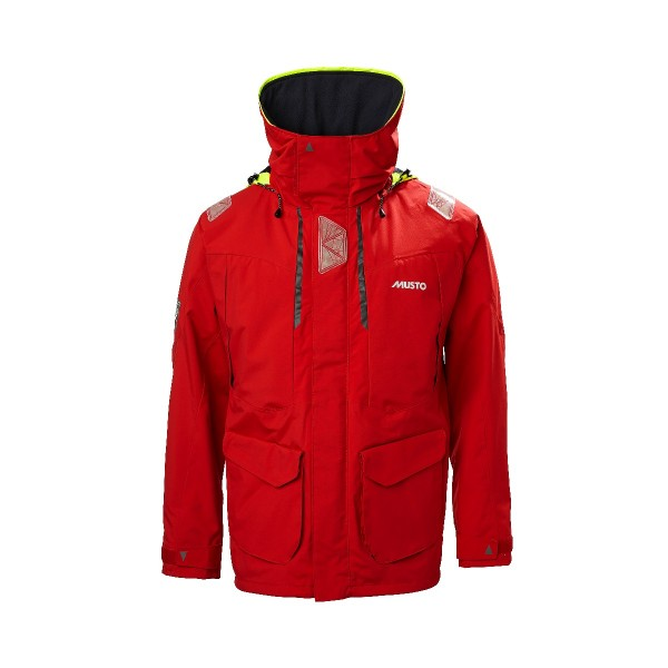 Musto BR2 Offshore Jacket True Red