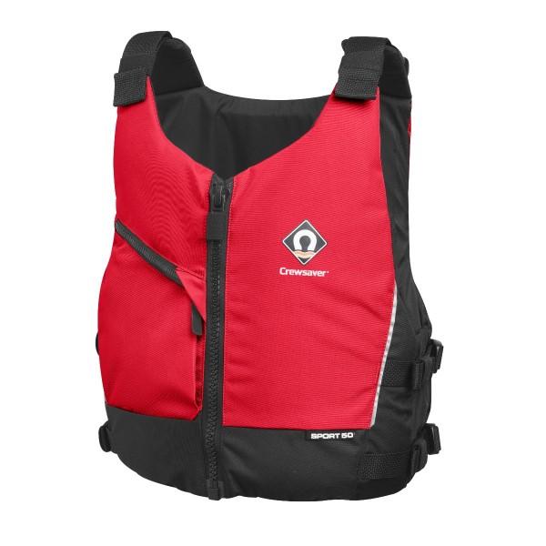 Crewsaver Sport 50N Buoyancy Aid Red