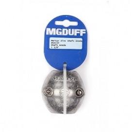 """MGDUFF ZSA112 Zinc Ball Shaft Anode 1 1/8"""""""