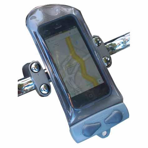 Aquapac Waterproof Mini Bike/Pedestal/Yacht Rail Mounted Phone Case - iPhone 3 to 6 - 110