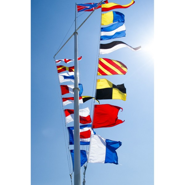 Code Flag Bunting (40 Flags) 15m