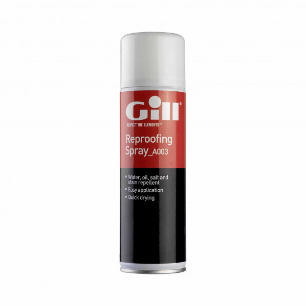 Gill Reproofing Spray For Yachting & Outdoor Clothing