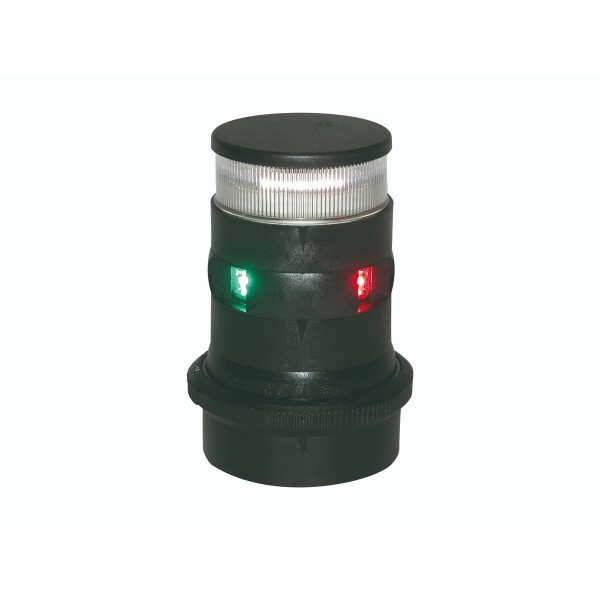 Aqua Signal Series 34 Tri Colour/Anchor LED Navigation Light Black Housing