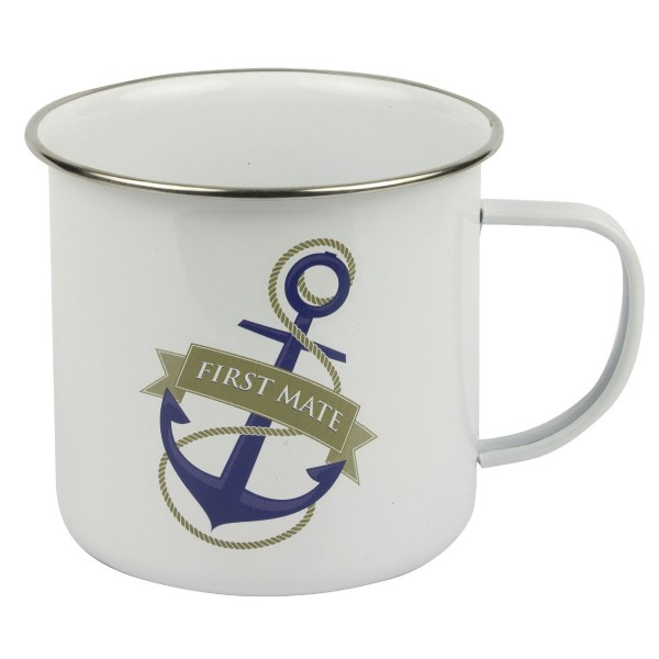 Tin Mug First Mate
