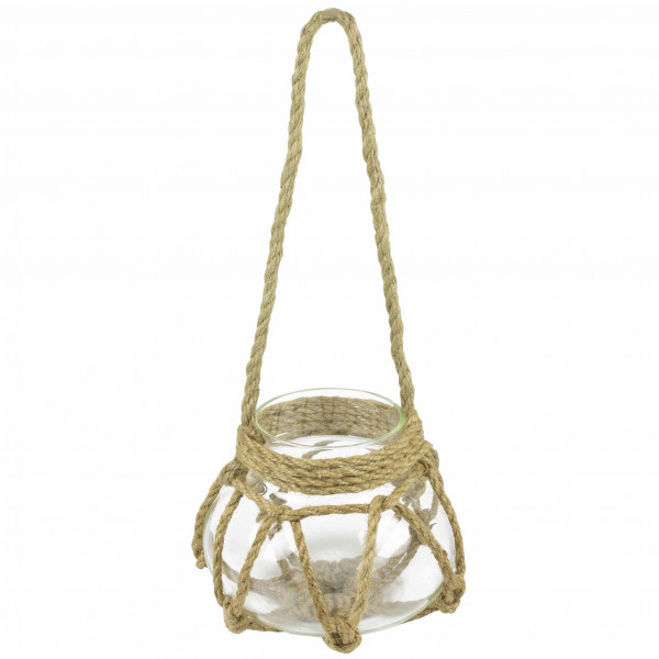 Tealight Holder - Lantern/Rope