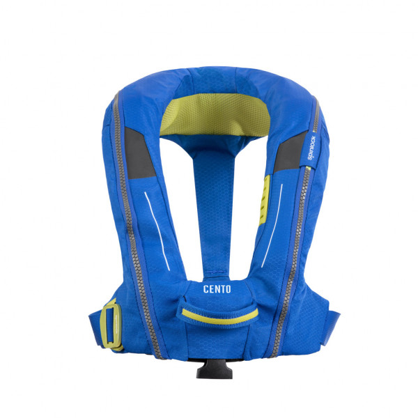 Spinlock Cento Junior Inflatable Lifejacket Pacific Blue Harness DW-CEN/APB