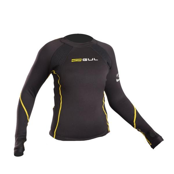 Gul Evotherm Junior FL Thermal Long Sleeve Top Black
