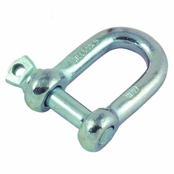 Galvanised Steel Dee Shackle