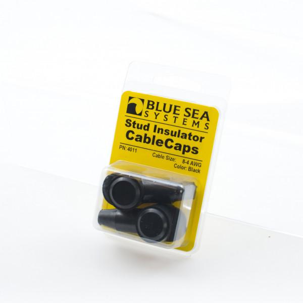 Terminal Caps Black 8-4AWG