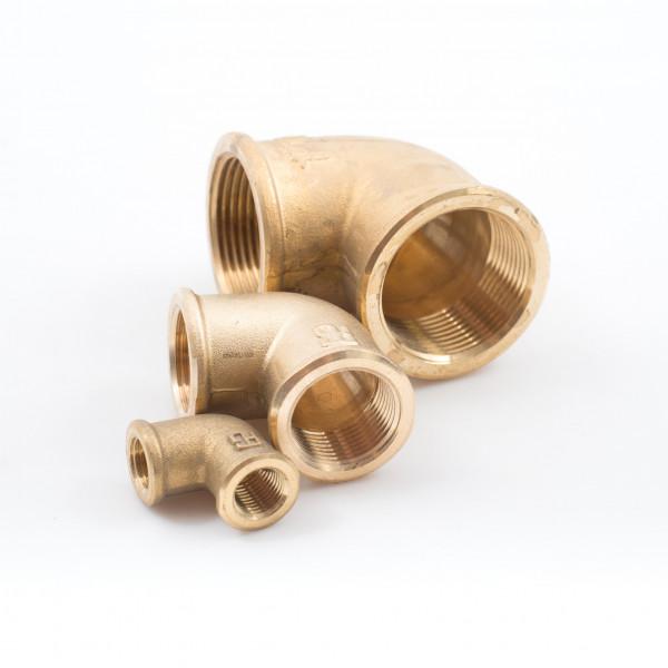 Elbows Brass Female Female Skin Fittings Valves Hose Connectors