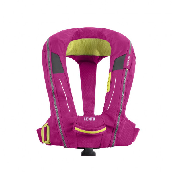 Spinlock Cento Junior Inflatable Lifejacket Grenadine Pink Harness DW-CEN/AGP