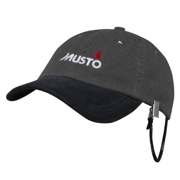 Musto Evolution Original Crew Cap Dark Grey