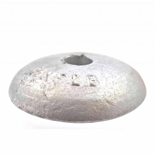 Anode Zinc Round 138mm 2.3kg