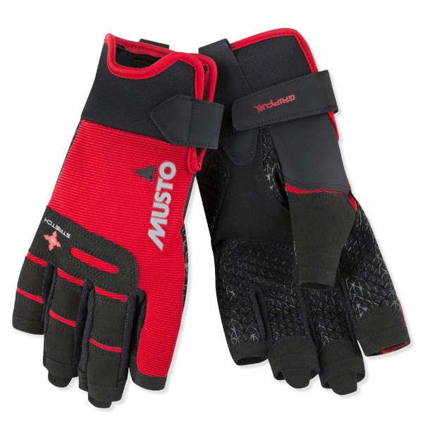 Musto Performance Short Finger Sailing Glove True Red 80104