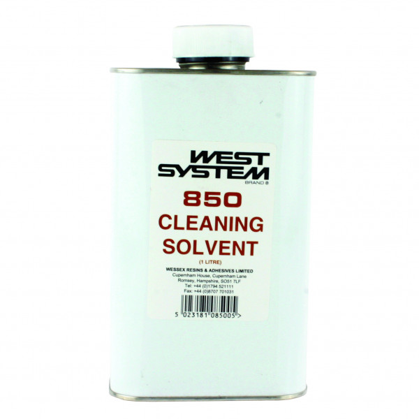 West System 850 Cleaning Solvent 1Ltr