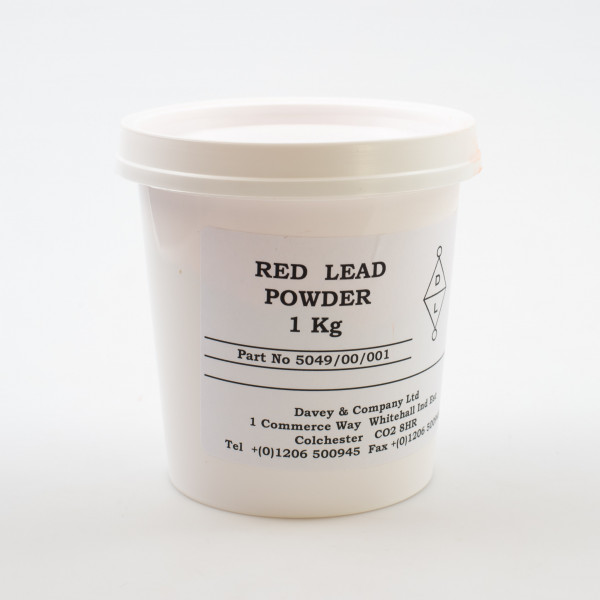 Davey and Co  Red Lead Powder 1kg