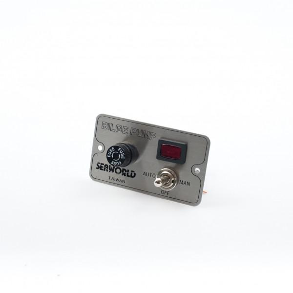 Control Switch Bilge Pump On/Off/Auto