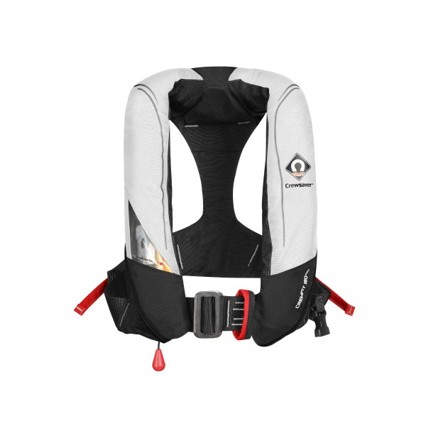 Crewsaver Crewfit 180N Pro Lifejacket Automatic with Harness White/Red
