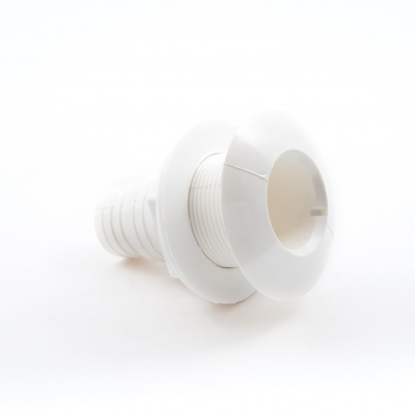 Skin Fittings Plastic (Nylon) Off White, Hose Variable Size Hose Adaptor