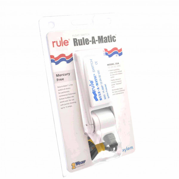 Rule-A-Matic Float Switch 12-32v for Bilge Pump