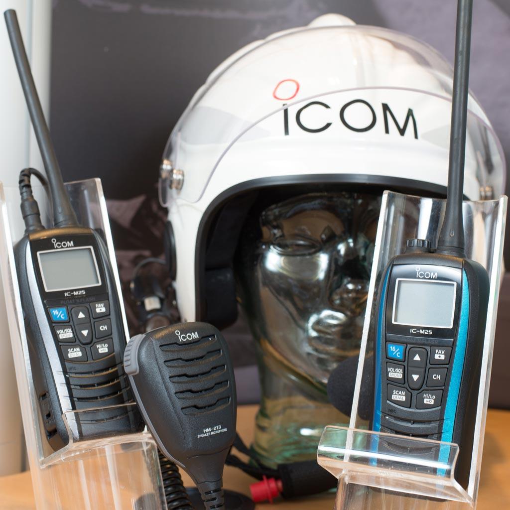 Icom M25 Handheld VHF  | Captain Watts Yacht Supplies